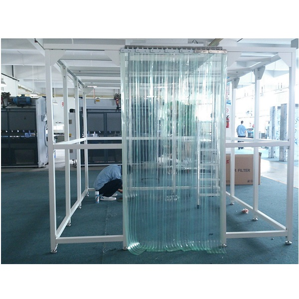 Clean booth for pharma or electronic production אוהל נקי חופה למינארית