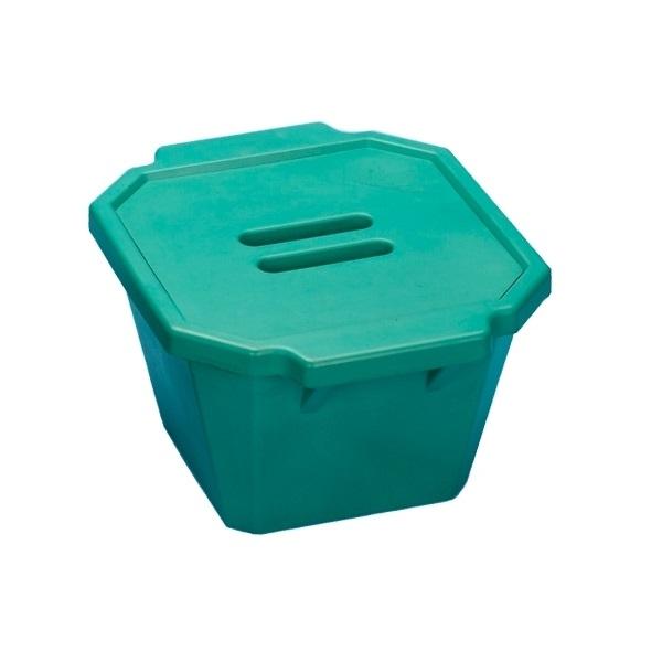 סל קרח ירוק עם מכסה Ice Bucket with lid