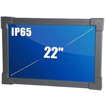 """מחשב לחדר נקי IP65 22"""" ALL-IN-ONE Intel Core i5"""