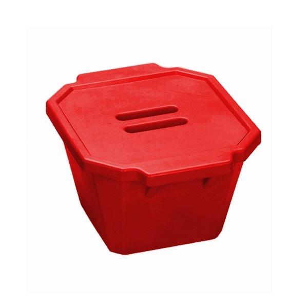 סל קרח אדום עם מכסה Ice Bucket with lid