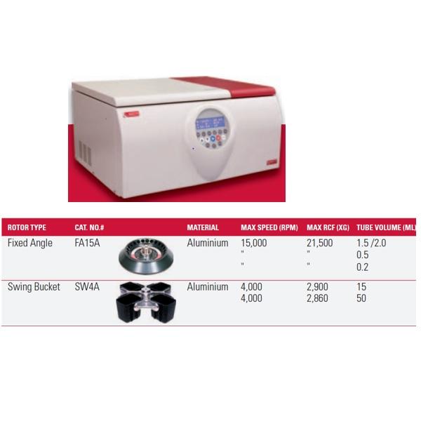 צנטריפוגה שולחנית מקוררת Refrigerated Benchtop Centrifuge