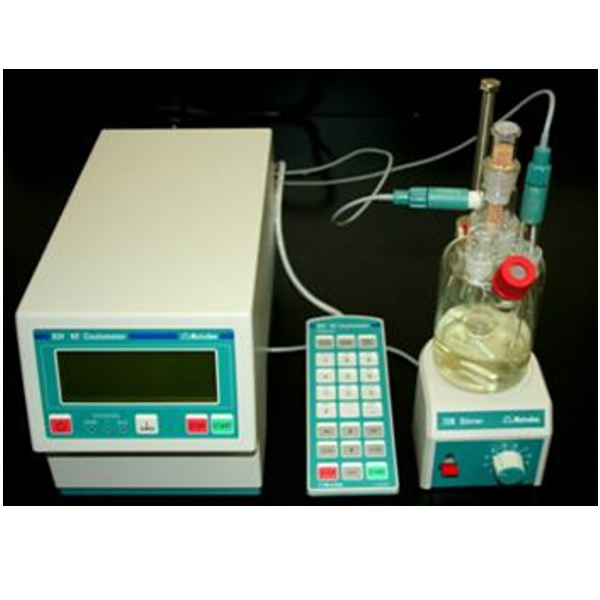 Coulometric Karl Fischer titrator טיטרטור
